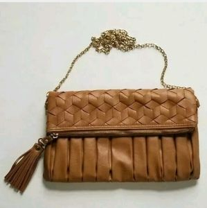 NWOT Urban Expressions Brown Crossbody or Clutch